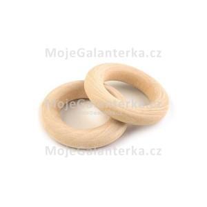 Kroužek dřevěný, Ø16 mm (1ks)
