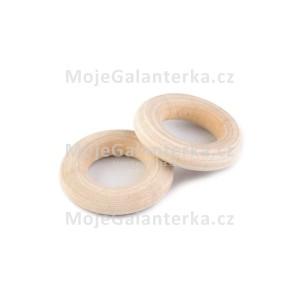 Kroužek dřevěný, Ø12 mm (1ks)
