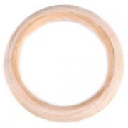 Kroužek dřevěný, Ø85 mm (1ks)
