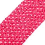 Pruženka síťovaná, šíře 7 cm, tutu, růžová malinová