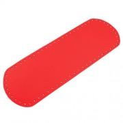Dno na kabelku, 12x36 cm, červená světlá