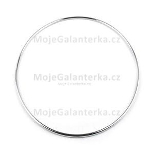 Kovový kruh na lapač snů, k dekorování Ø20 cm, nikl