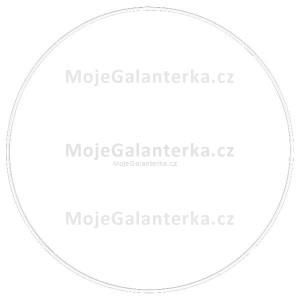 Kovový kruh na lapač snů, k dekorování Ø35 cm, bílý