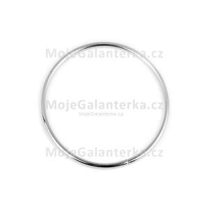 Kovový kruh na lapač snů, k dekorování Ø8 cm, nikl