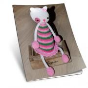 Návod na háčkovanou hračku: Kočička Lucinka (bílá)