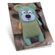 Návod na háčkovanou hračku: Medvídek Adolf