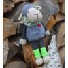 Návod na háčkovanou hračku: Ovečka Matylda