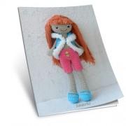 Návod na háčkovanou hračku: Panenka Josefínka