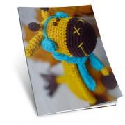 Návod na háčkovanou hračku: Žirafa Tonička (žlutá)