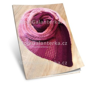 Návod na háčkovaný šátek, Butterfly Nenasyta