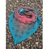 Návod na háčkovaný šátek, Kytky