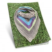 Návod na háčkovaný šátek Magdaléna Vé