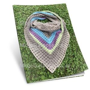 Návod na háčkovaný šátek, Magdaléna Vé