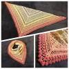Návod na háčkovaný šátek, Naděje Adventu
