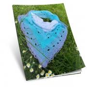 Návod na háčkovaný šátek Noty