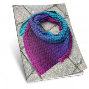 Návod na háčkovaný šátek, Podzim (jaro)