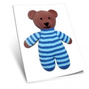 Návod na háčkovanou hračku: Medvídek (hnědý)
