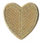 Nažehlovačka, srdce, zlaté