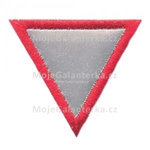 Nažehlovačka, trojúhelník (reflexní)
