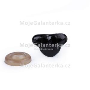 Bezpečnostní čumák, 11x17mm, černý