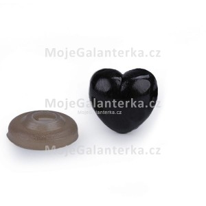 Bezpečnostní čumák, 12x13mm, černý
