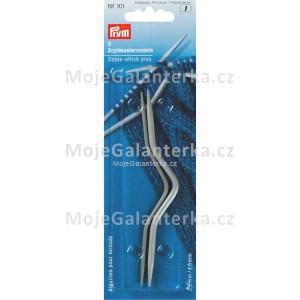 Jehlice pomocné 2,5 + 4 mm, zakřivené