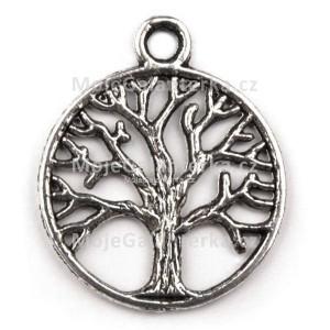 Přívěsek kruhový, 20mm, strom života