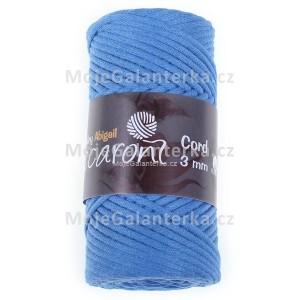 Příze Abigail, 3mm, modrá, 44-911