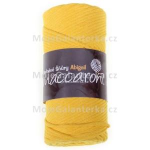Příze Abigail, 3mm, žlutá, 406D