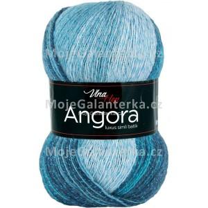 Příze Angora Luxus Simli Batik, 5721