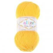 Příze Baby Best, 216, sytá žlutá
