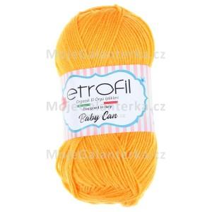 Příze Baby Can, 80020, oranžová