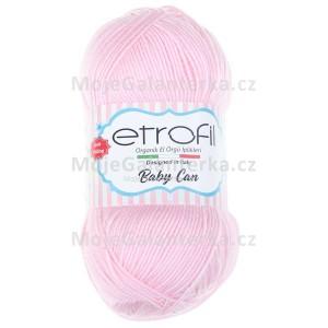 Příze Baby Can, 80034, růžový pudr
