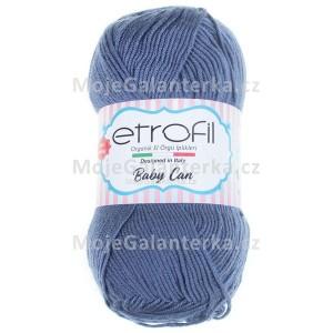 Příze Baby Can, 80051, půlnoční modrá