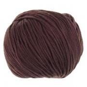 Příze Bambino Lux Cotton, 70707, tmavě hnědá
