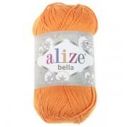 Příze Bella 100, 083 oranžová (100g)