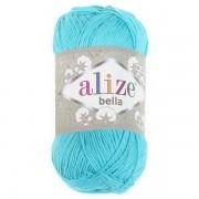 Příze Bella 100, 477 modrozelená (100g)