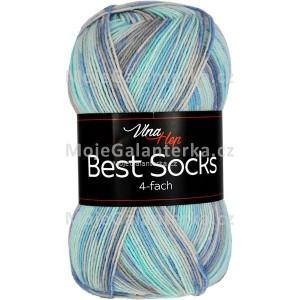 Příze Best Socks, 4-fach,  7302