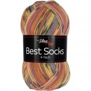 Příze Best Socks, 4-fach,  7304