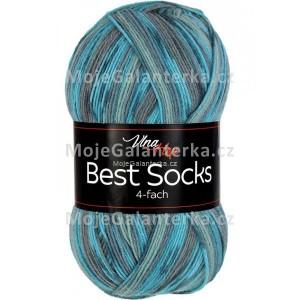 Příze Best Socks, 4-fach,  7309