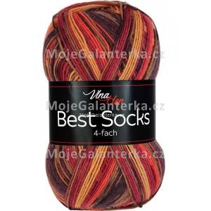 Příze Best Socks, 4-fach,  7316