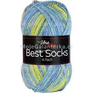 Příze Best Socks, 4-fach,  7322