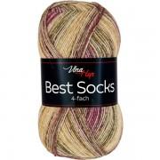 Příze Best Socks, 4-fach,  7323