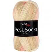 Příze Best Socks, 4-fach,  7327