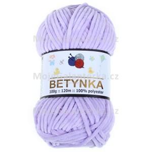 Příze Betynka, 305, světle fialová
