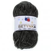 Příze Betynka, 311, černá