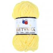 Příze Betynka, 313, žlutá