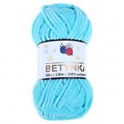 Příze Betynka, 315, tyrkysová (modrá)