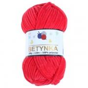Příze Betynka, 318, červená