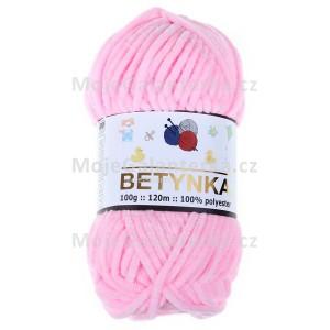 Příze Betynka, 319, světle růžová